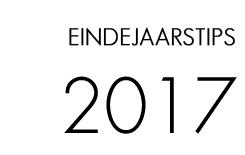 Eindejaarstips 2017